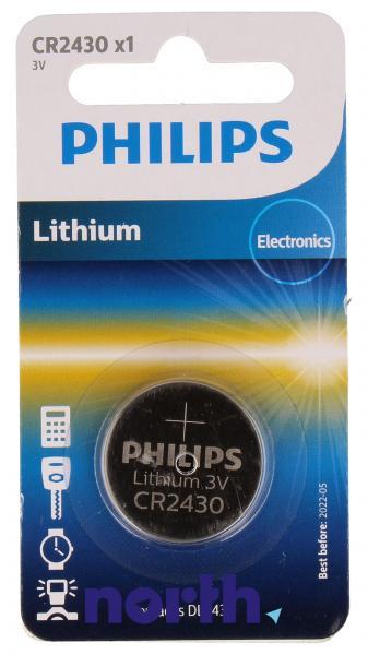 CR2430 | DL2430 | Bateria 3V 270mAh Philips (1szt.),0