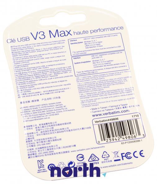 Pendrive   Pamięć USB 3.0 32GB Verbatim 49806,1