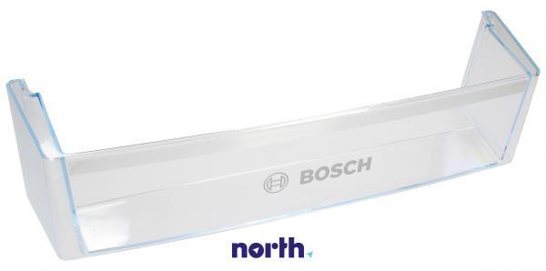 Balkonik   Półka na butelki na drzwi chłodziarki (dolna) do lodówki Bosch 11002391,0