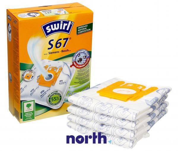 Worek do odkurzacza Swirl 4szt. S67,0