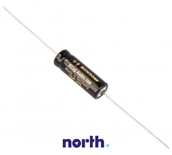15uF | 100V Kondensator elektrolityczny (osiowy) MUNDORF ECAP10015,0