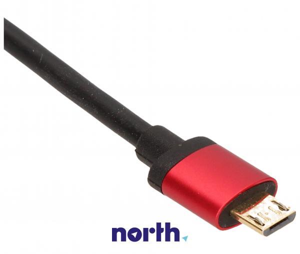 Kabel USB A - USB A micro 1.8m (wtyk/ micro wtyk),1