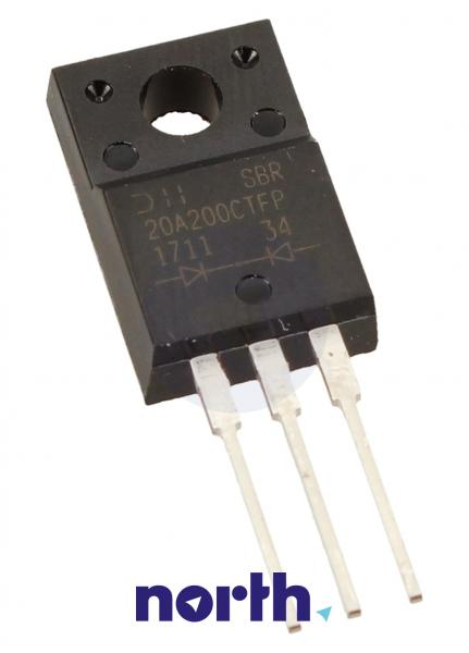 20A200CTFP Dioda DIODES INCORPORATED,0