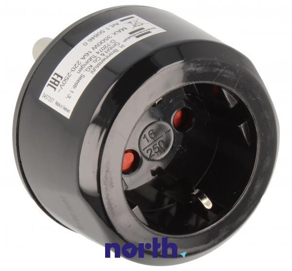 Przejściówka | Adapter podróżny AC RPA,0