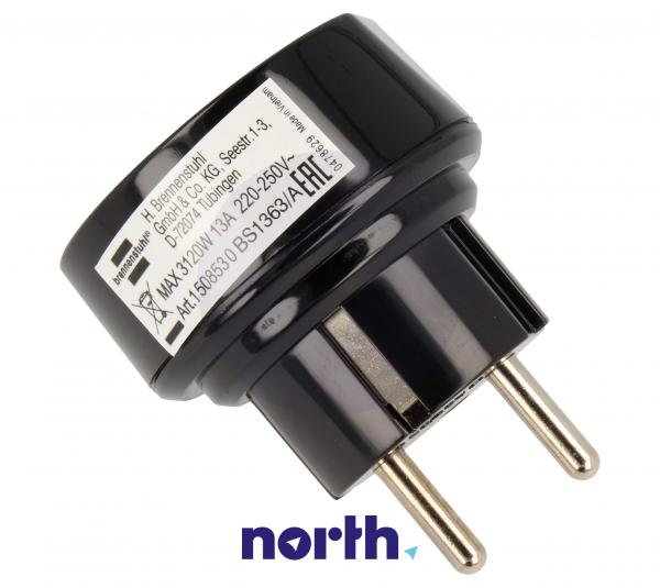 Przejściówka | Adapter podróżny AC UK,1