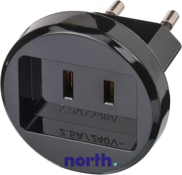 Przejściówka   Adapter podróżny AC USA,0