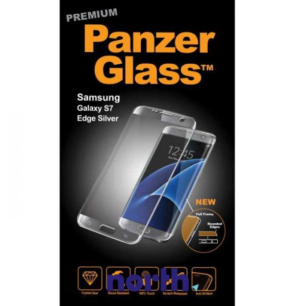 Szkło hartowane wyświetlacza do smartfona Samsung Galaxy S7 Edge PanzerGlass (srebrna) 1052,0