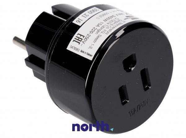 Przejściówka | Adapter podróżny AC USA,0