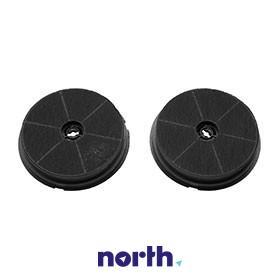 Filtr węglowy aktywny w obudowie (okrągły) do okapu FLT6,0