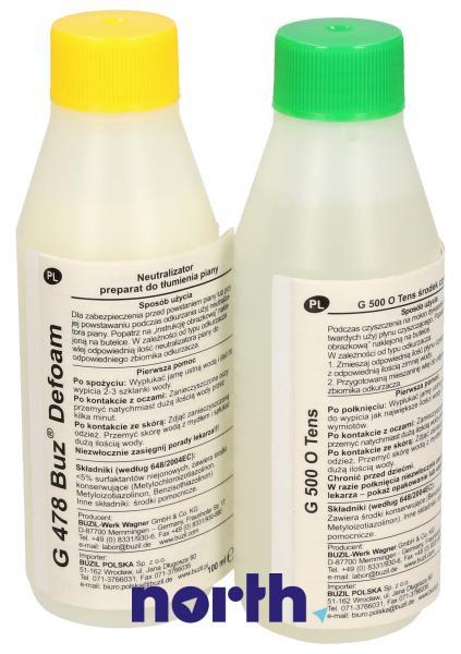 Zestaw do prania ZVCA080X (szampon + antypieniacz) do odkurzacza Zelmer 00311724,2