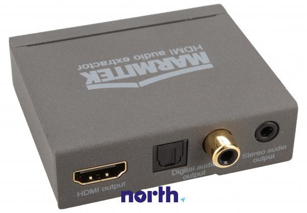 Konwerter TOSLINK/CINCH/COAX  - HDMI (gniazdo/gniazdo x3/ gniazdo) Marmitek 08276,1