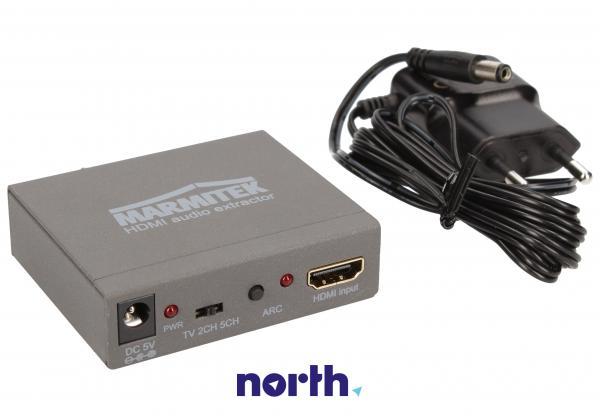 Konwerter TOSLINK/CINCH/COAX  - HDMI (gniazdo/gniazdo x3/ gniazdo) Marmitek 08276,2