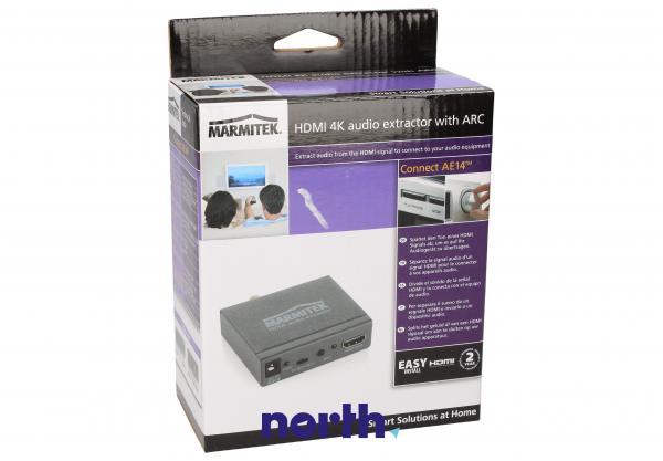 Konwerter TOSLINK/CINCH/COAX  - HDMI (gniazdo/gniazdo x3/ gniazdo) Marmitek 08276,3