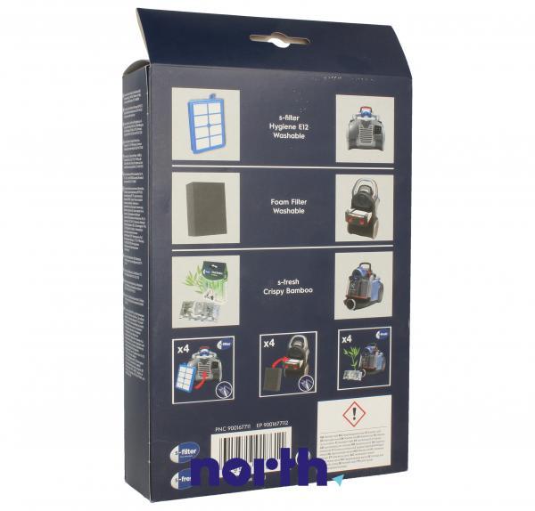 Zestaw startowy: filtry, wkład zapachowy USK11 do odkurzacza 9001677112,1