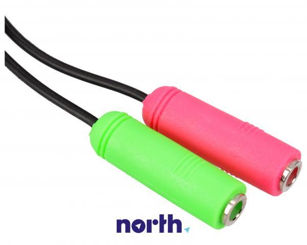 Kabel JACK 3.5mm - CINCH (wtyk/ gniazdo x2),1