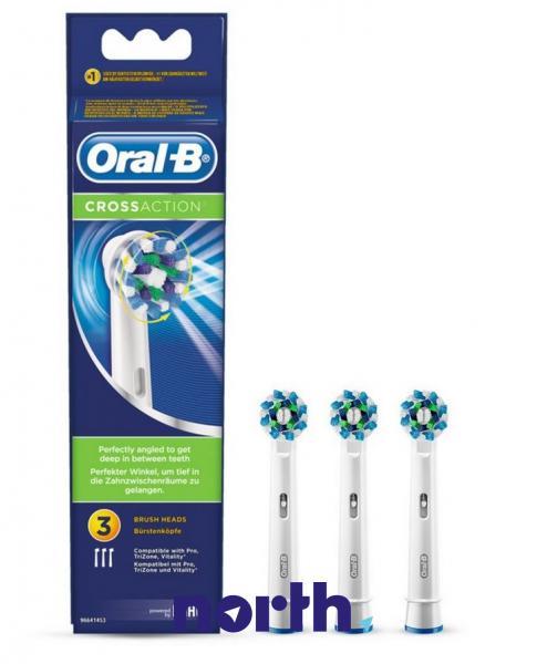Końcówki EB50-3 Cross Action do szczoteczki do zębów (3szt.) Oral-B 80250626,0