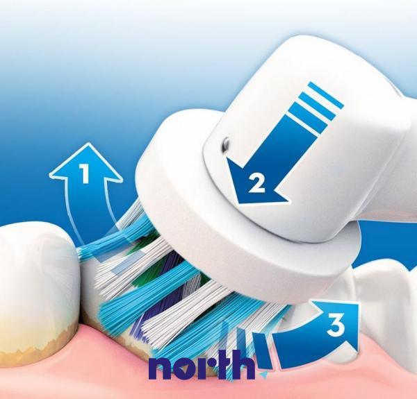 Końcówki EB50-3 Cross Action do szczoteczki do zębów (3szt.) Oral-B 80250626,4
