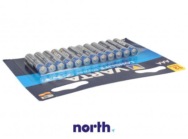 R3   LR3   MN2400 Bateria AAA alkaliczna (High Energy) 1.5V Varta 12szt.,2