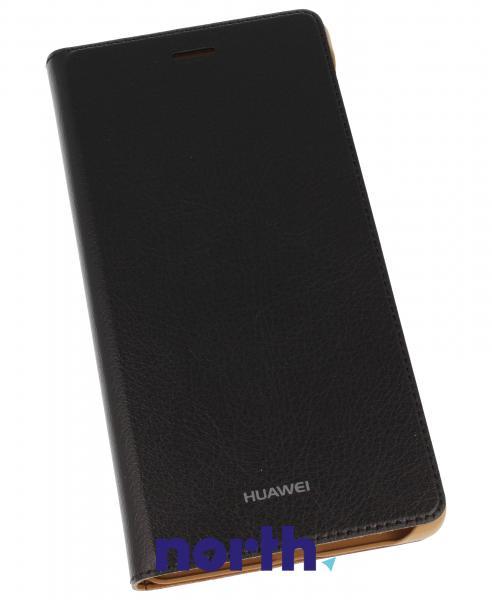 Pokrowiec | Etui Flip Cover do smartfona HUAWEI P8 Lite 51990917 (czarne),0