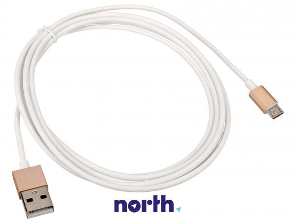 Kabel USB A - USB B micro (wtyk/ wtyk),0