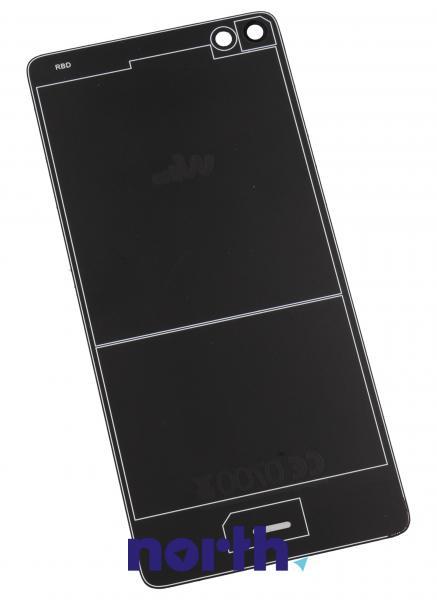 Klapka baterii do smartfona HIGHWAY PURE M203R51131000 (czarna),1