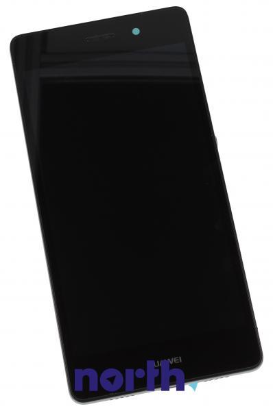 Ekran   Panel dotykowy P8 Lite z wyświetlaczem (+obudowa) do smartfona 02350KCC,0