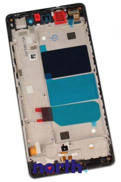 Ekran   Panel dotykowy P8 Lite z wyświetlaczem (+obudowa) do smartfona 02350KCC,1