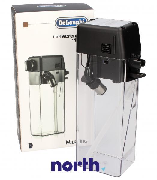 Dzbanek | Pojemnik na mleko DLSC010 LatteCrema (kompletny) do ekspresu do kawy 5513294561,0