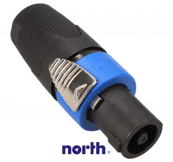 Łącznik 2 pin (wtyk/ 2 pin speakon),1