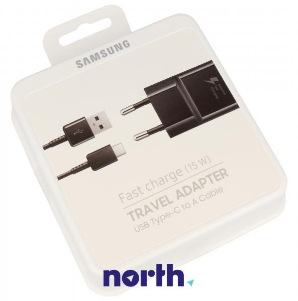 Ładowarka sieciowa USB + kabel EP-TA20E do smartfona,0