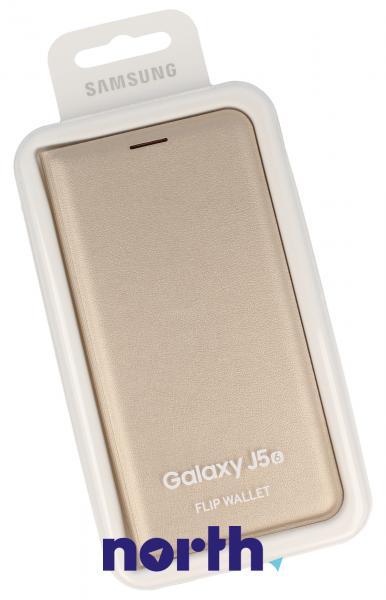Pokrowiec | Etui Flip Cover do smartfona Galaxy J5 (2017) SM-J520F EFWJ510PFEGWW (złote),0