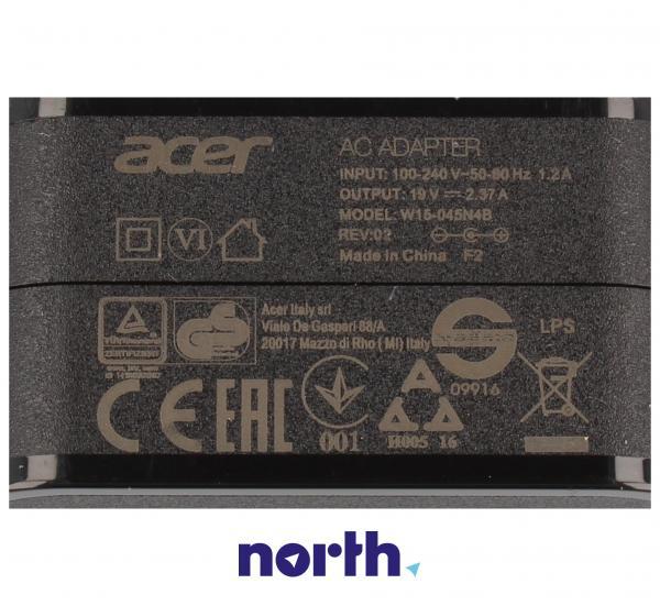 Ładowarka   Zasilacz W15-045N4B do laptopa Acer KP0450H007,1