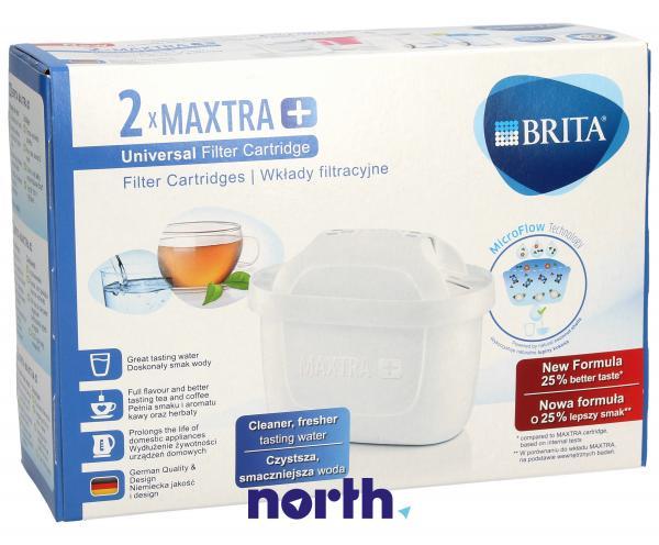 Filtr | Wkład filtrujący Brita MAXTRA+ 2szt. do dzbanka filtrującego 1023118,0