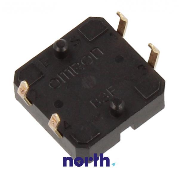 B3F4000 Mikroprzełącznik 24V-50mA 12x12mm, wysokość 4,3mm OMRON,1