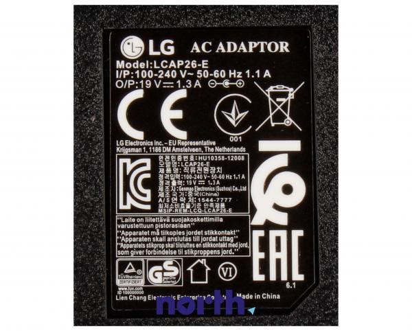 Zasilacz EAY62708920 do monitora LG,3