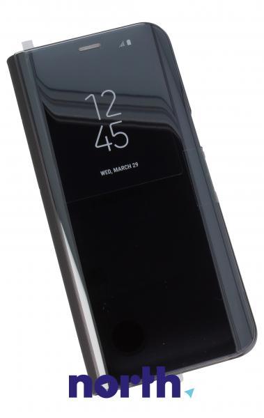 Pokrowiec | Etui Clear View Cover do smartfona Galaxy S8 SM-G950F EFZG950CBEGWW (czarny),1