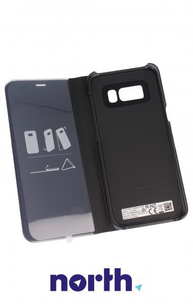 Pokrowiec | Etui Clear View Cover do smartfona Galaxy S8 SM-G950F EFZG950CBEGWW (czarny),3