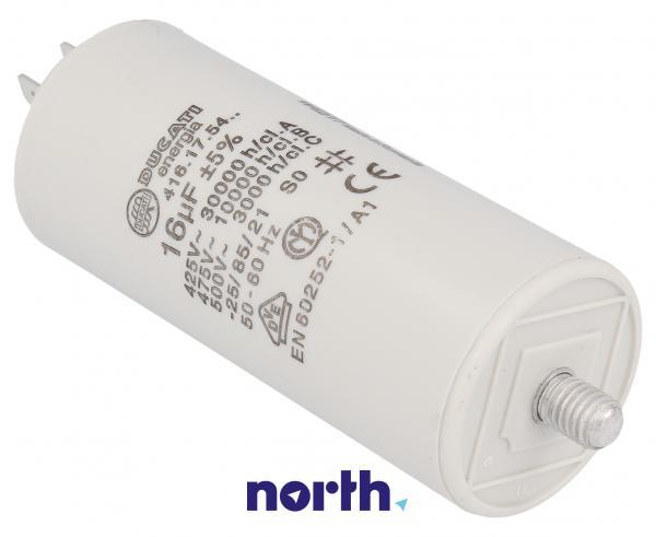 Kondensator rozruchowy 16,0UF400450VFASTON6,3MM,0