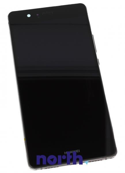 Ekran | Panel dotykowy P9 Lite z wyświetlaczem (+obudowa) do smartfona Huawei 02350TMU,0