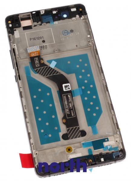 Ekran | Panel dotykowy P9 Lite z wyświetlaczem (+obudowa) do smartfona Huawei 02350TMU,1