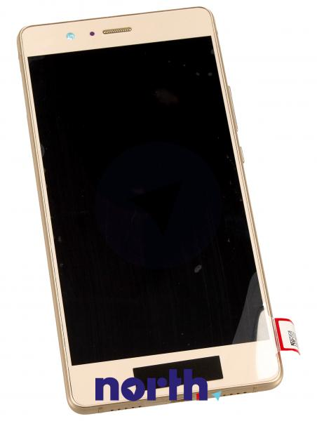 Ekran   Panel dotykowy P9 Lite z wyświetlaczem (+obudowa) do smartfona 02350SUL,0