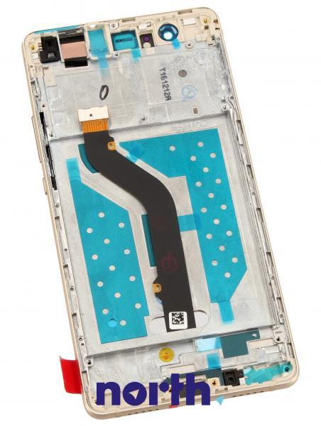 Ekran   Panel dotykowy P9 Lite z wyświetlaczem (+obudowa) do smartfona 02350SUL,1