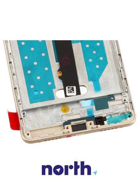 Ekran   Panel dotykowy P9 Lite z wyświetlaczem (+obudowa) do smartfona 02350SUL,3