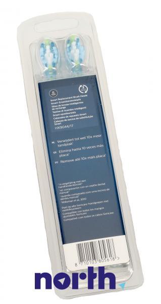 Końcówki Sonicare C3 HX9044/17 Premium Plaque Defence Standard do szczoteczki do zębów (4szt.) Philips HX904417,5