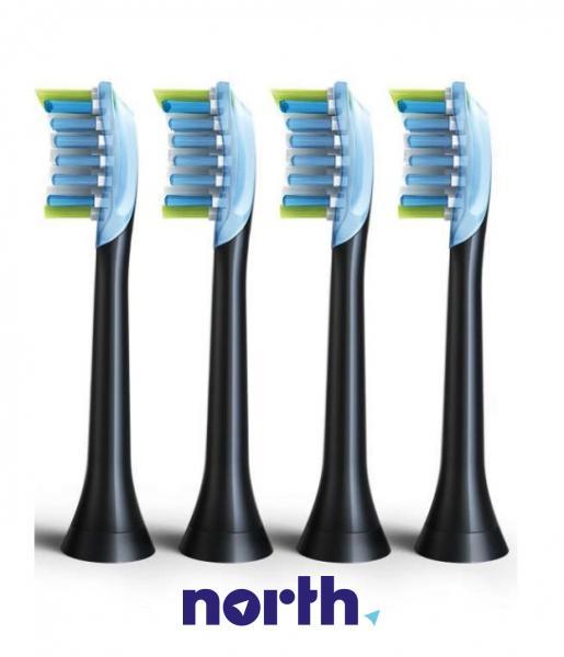 Końcówki Sonicare C3 HX9044/33 Premium Plaque Defence Standard do szczoteczki do zębów (4szt.) Philips HX904433,1