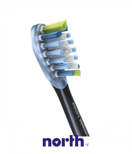 Końcówki Sonicare C3 HX9044/33 Premium Plaque Defence Standard do szczoteczki do zębów (4szt.) Philips HX904433,2