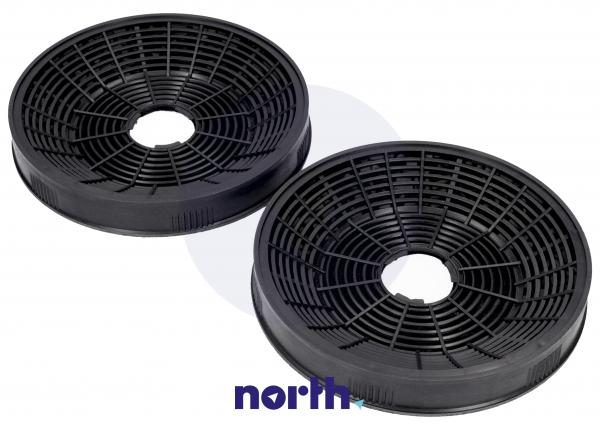 Filtr węglowy aktywny w obudowie (okrągły) do okapu 1160826,0