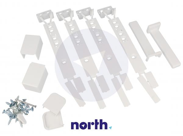 Zestaw montażowy pod zabudowę do lodówki 140046408146,0