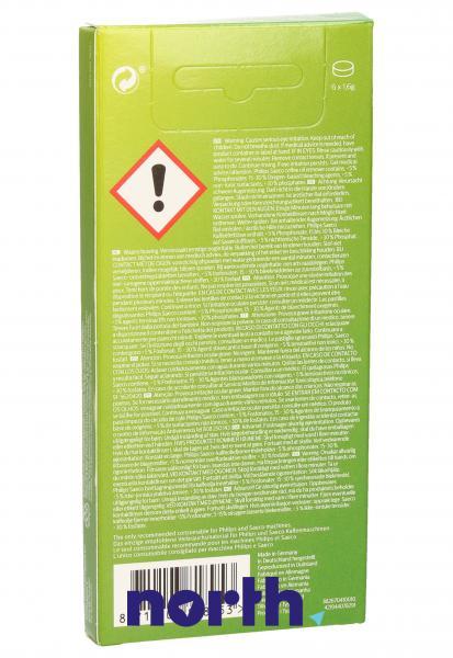Preparat odtłuszczający (tabletki) 6szt. do ekspresu do kawy Philips CA6704/10,1