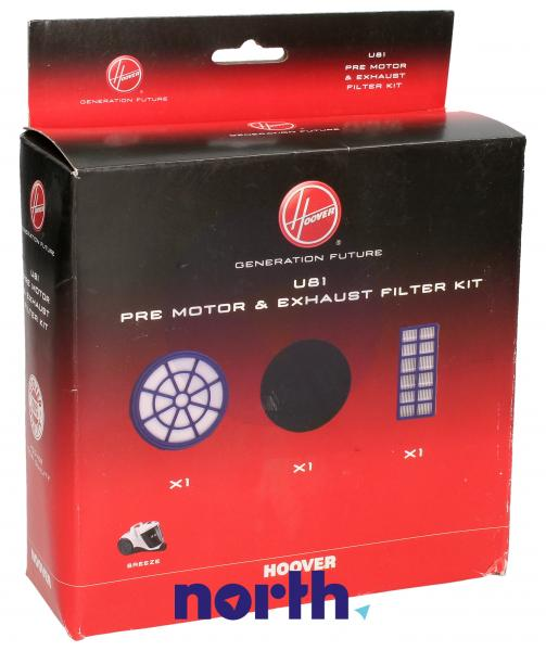 Zestaw filtrów U81 do odkurzacza 35601724,2